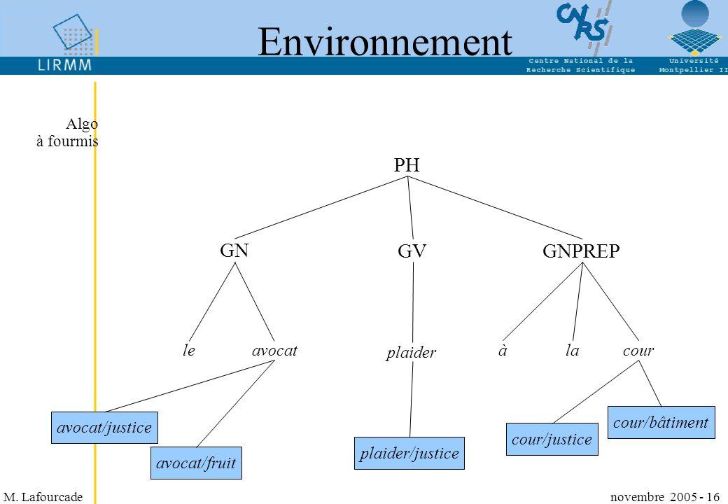 M. Lafourcade novembre 2005 - 16 Environnement PH GN GVGNPREP leavocat plaider àlacour avocat/justice avocat/fruit cour/justice cour/bâtiment plaider/