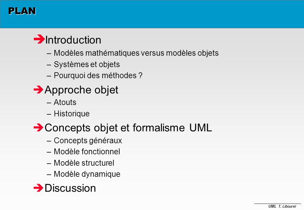 UML T. Libourel Autour des objets T. Libourel libourel@lirmm.fr