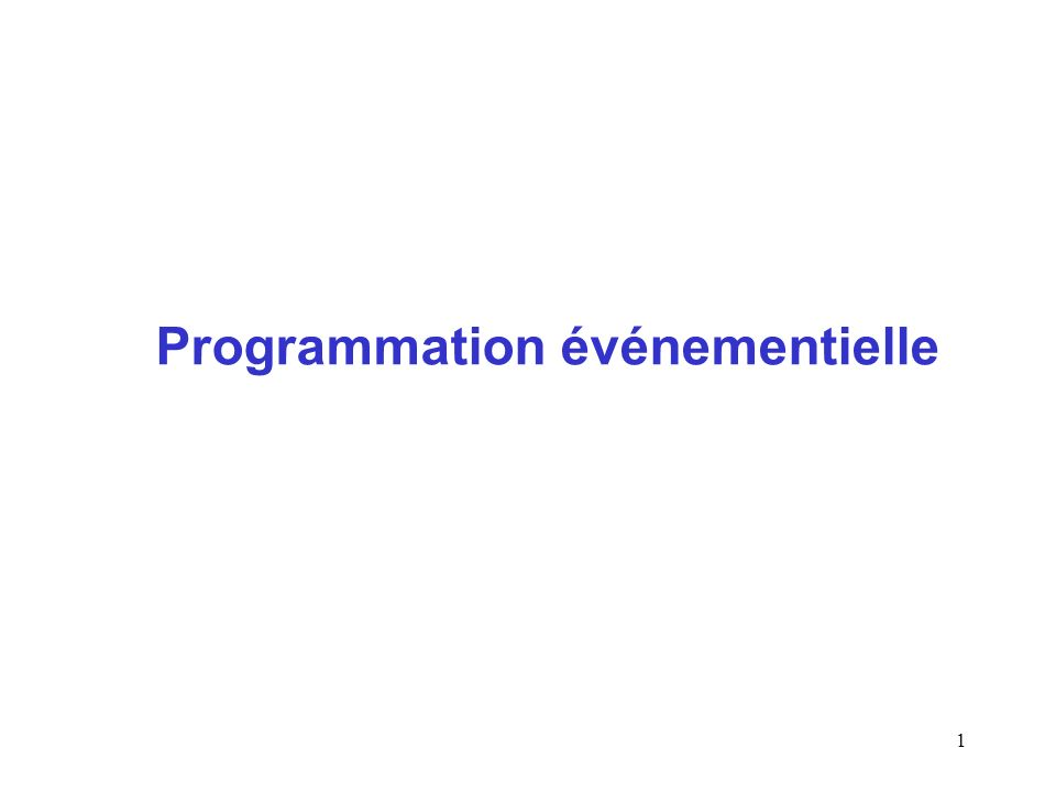 2 Programmation séquentielle public static void main(String args[]) { Toto t = new Toto(); for (int i = 0; i < C.maxi; i ++) { t.f(i); } System.out.println( Fin ); } Exécuter une application cest exécuter la méthode main dune des classes de lapplication A la fin de lexécution de main, lapplication est terminée