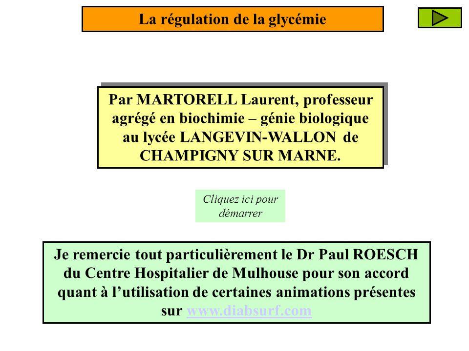 Par MARTORELL Laurent, professeur agrégé en biochimie – génie biologique au lycée LANGEVIN-WALLON de CHAMPIGNY SUR MARNE. Cliquez ici pour démarrer La