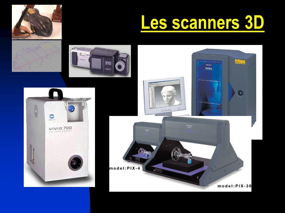 Les scanners 3D