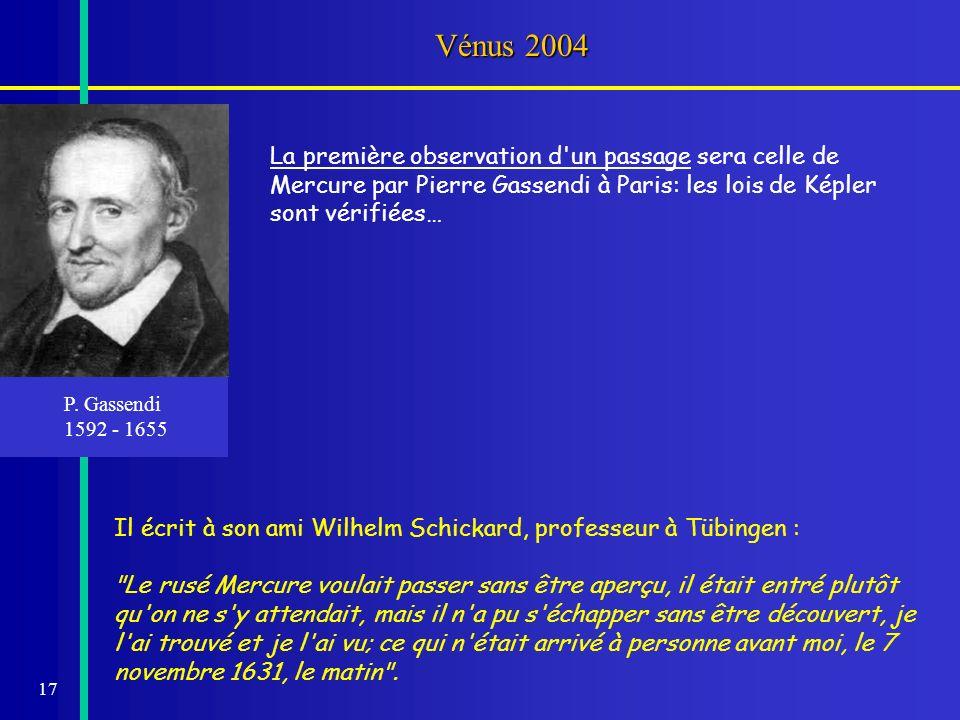 18 Passages de Mercure LE PASSAGE DE MERCURE DU 7 NOVEMBRE 1677 E.