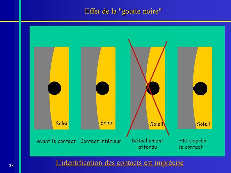 34 Le s observations Ne JAMAIS regarder le Soleil sans protection.