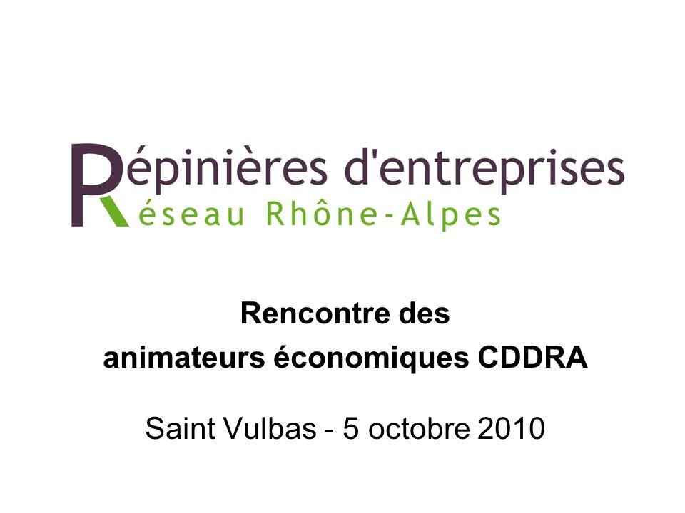 Rencontre des animateurs économiques CDDRA Saint Vulbas - 5 octobre 2010