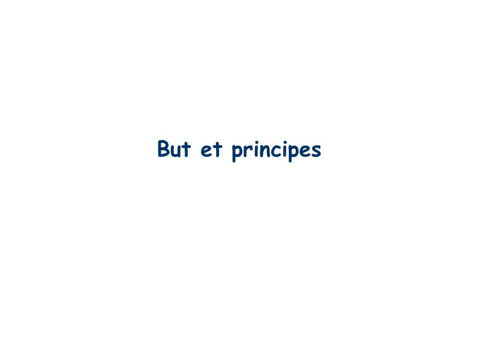 But et principes