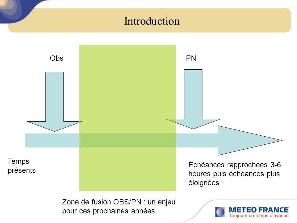 Un autre angle pour voir la convection : lOPIC-RADAR OPIC : Objets pour la Prévision Immédiate de la Convection : Les OPIC-Radars sont eux essentiellement élaborés à partir des mesures de réflectivité radar.