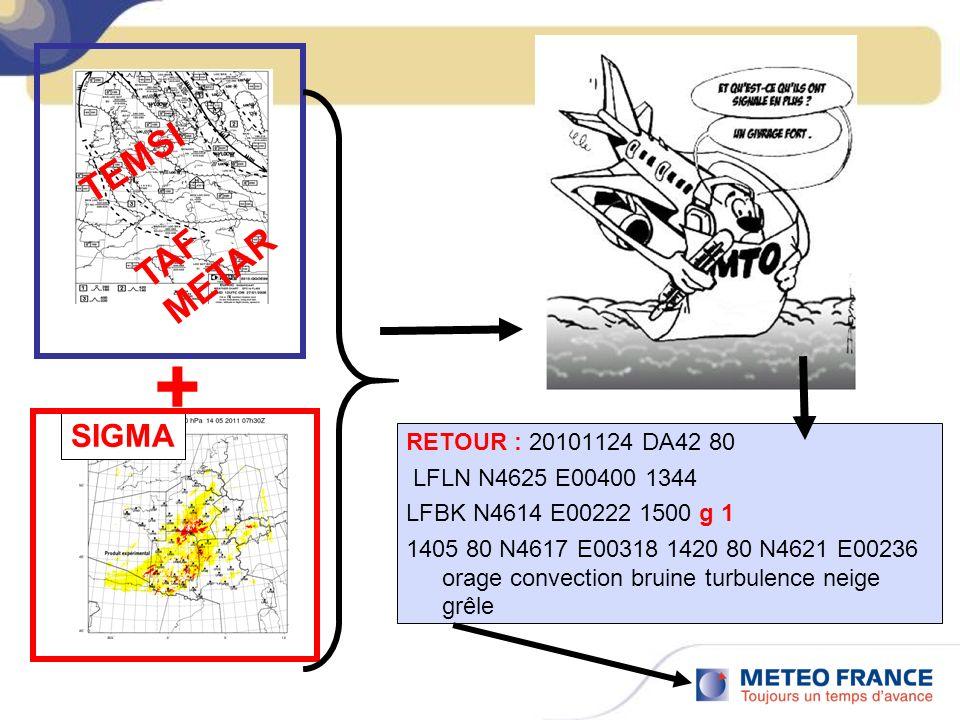 RETOUR : 20101124 DA42 80 LFLN N4625 E00400 1344 LFBK N4614 E00222 1500 g 1 1405 80 N4617 E00318 1420 80 N4621 E00236 orage convection bruine turbulen