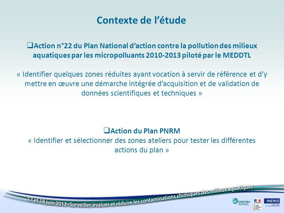 Action n°22 du Plan National daction contre la pollution des milieux aquatiques par les micropolluants 2010-2013 piloté par le MEDDTL « Identifier que