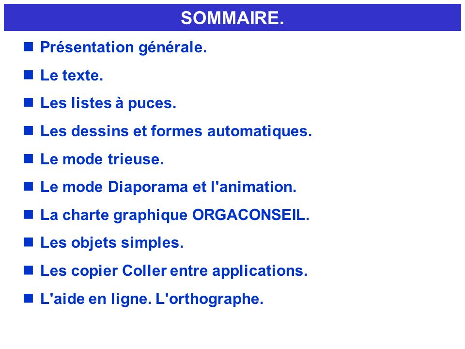 DIAPOSITIVE N°3 EXEMPLE EDITION