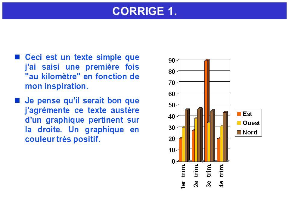 7.3 - ECHELLE / CORRIGE.