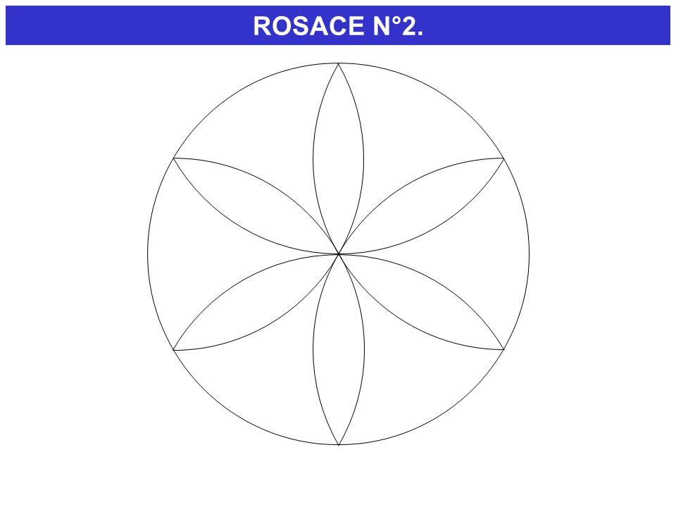 ROSACE N°2.