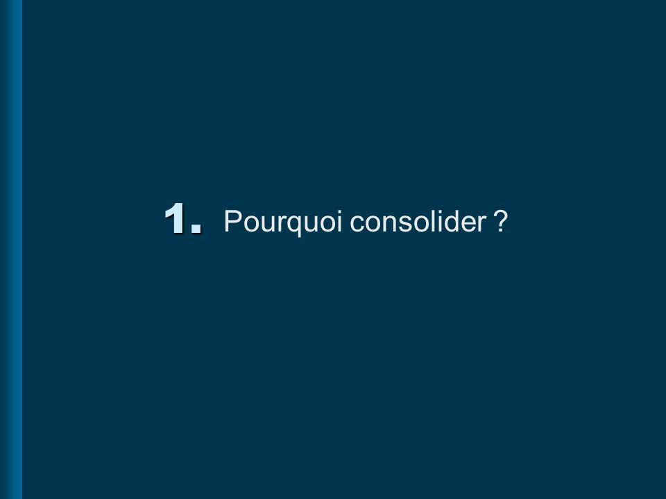 2. Choix de la méthode de consolidation