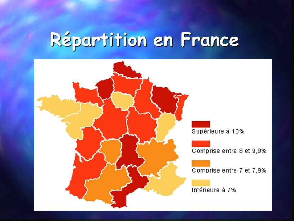 II Lampleur du problème 1) Répartition de lobésité en France, en Europe, dans le monde En France: Taux inférieur à 10%. En Europe: Taux supérieur à 20