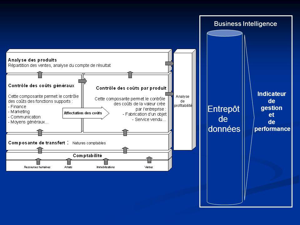 Entrepôt de données Business Intelligence Indicateur de gestion et de performance