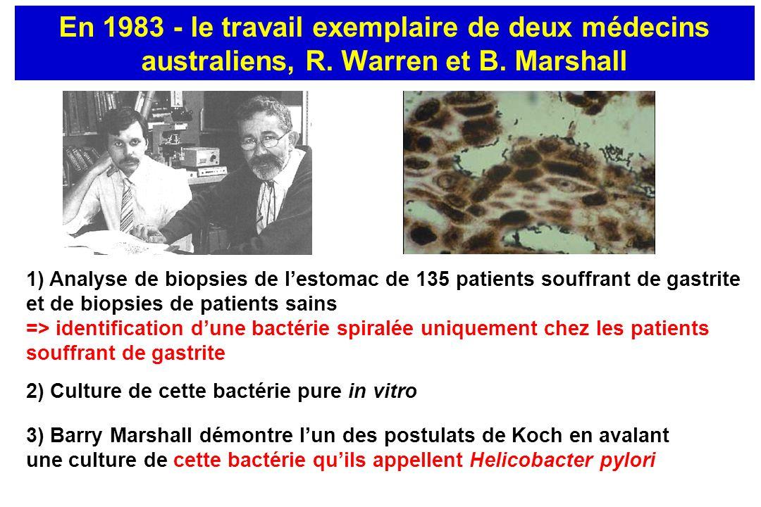 Helicobacter pylori et cancer gastrique 1994 : reconnaissance internationale de H.