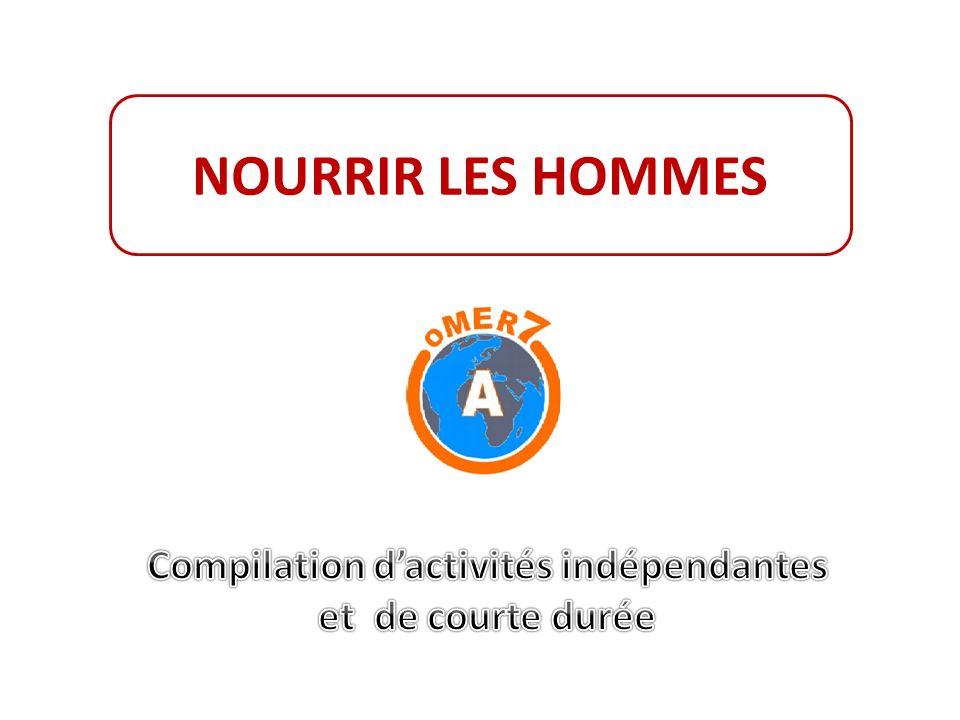 NOURRIR LES HOMMES