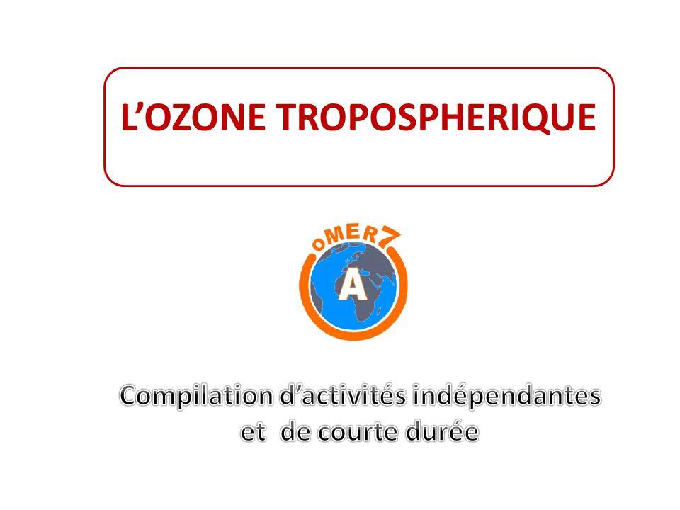 LOZONE TROPOSPHERIQUE