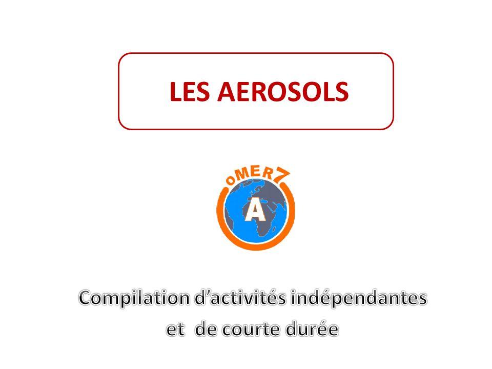 a.Donnez la définition des aérosols et leurs dimensions.