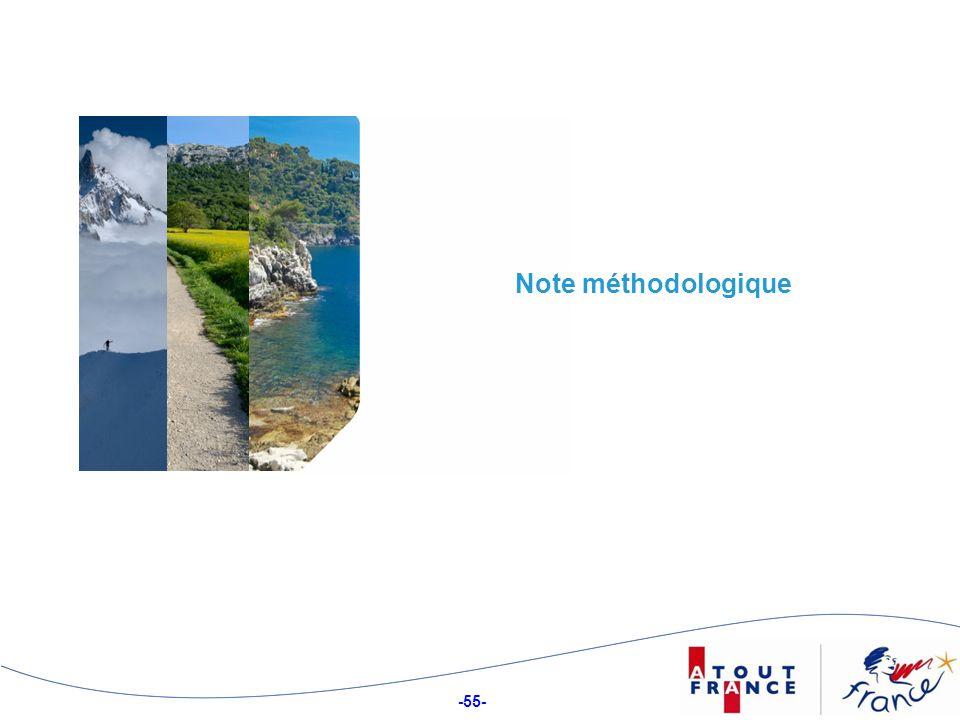 -55- Note méthodologique