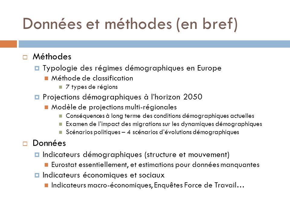 La France dans le projet DEMIFER Lecture possible Comment les régions françaises se positionnent-elles par rapport à lEurope .