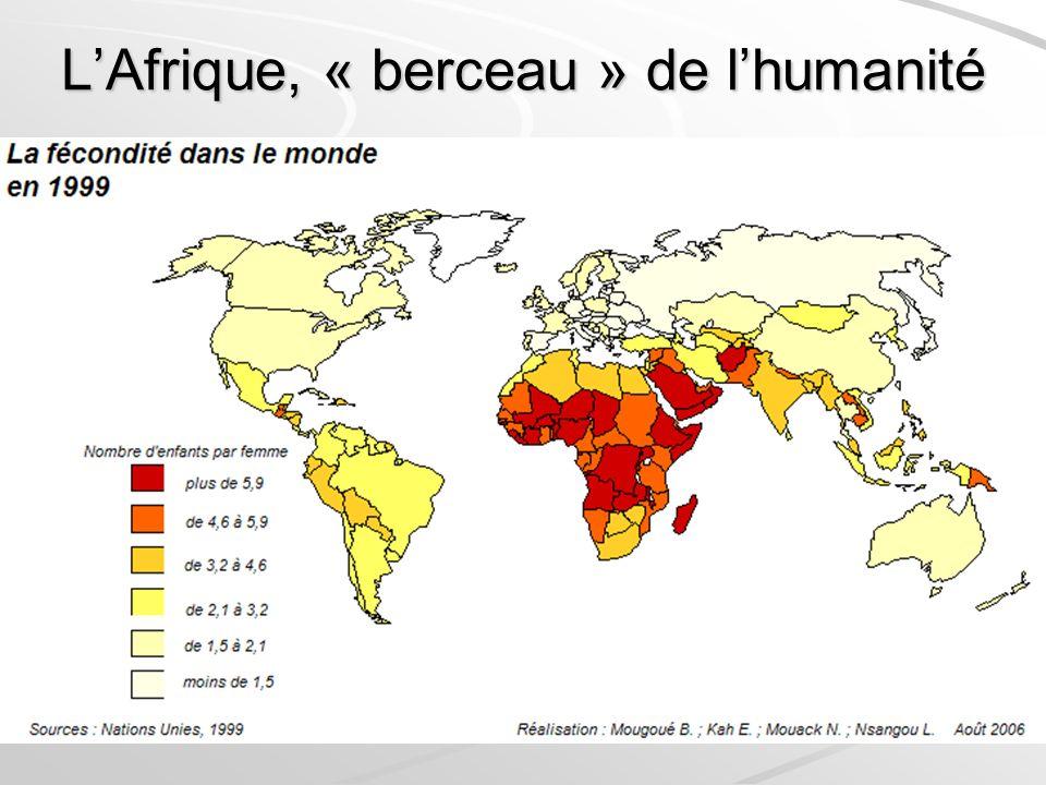 LAfrique, « berceau » de lhumanité