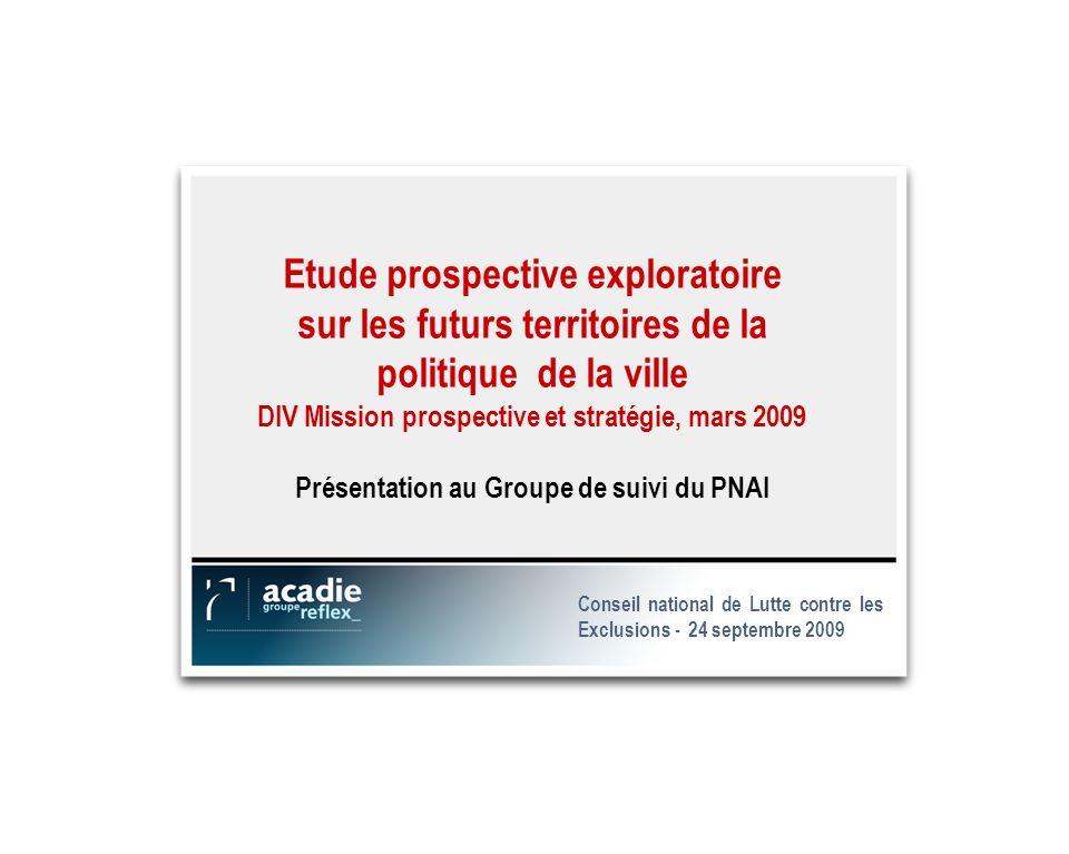 10 Présentation de létude DIV – Groupe de travail du PNAI CNLE - 24 septembre 2009 MERCI POUR VOTRE ATTENTION