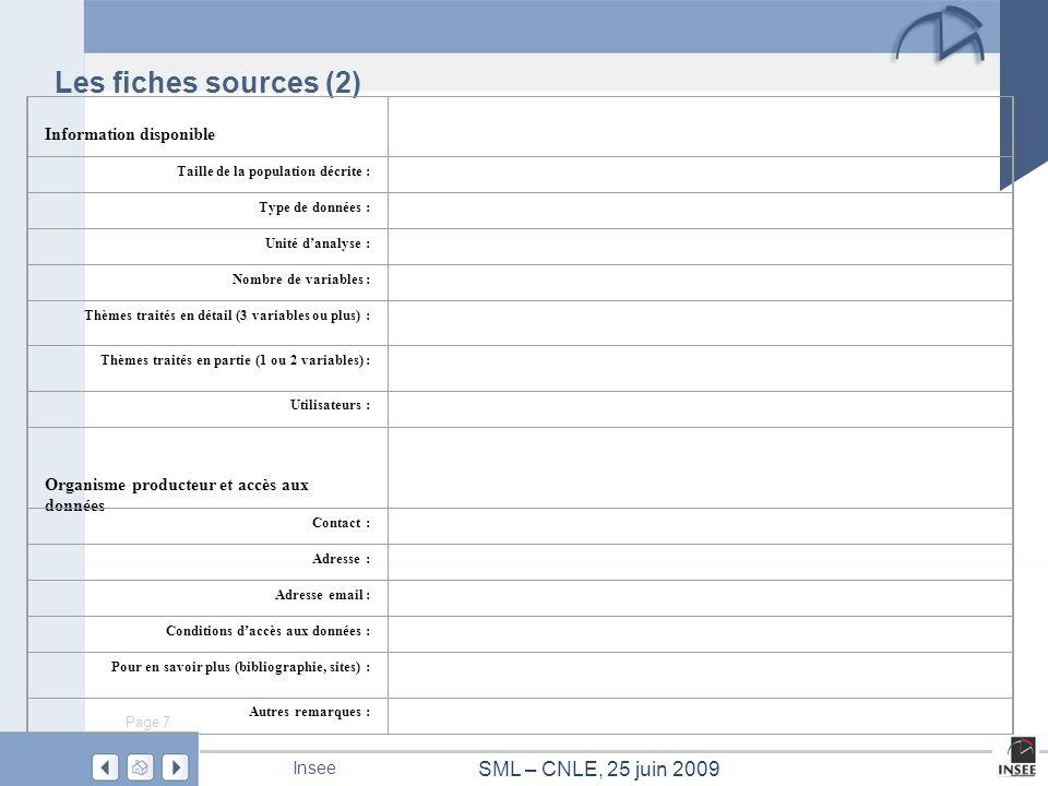 Page 18 SML – CNLE, 25 juin 2009 Insee Dalo Source : enquêtes Logement de 2006 Champ : logements, France métropolitaine Milliers Installation permettant un chauffage normal