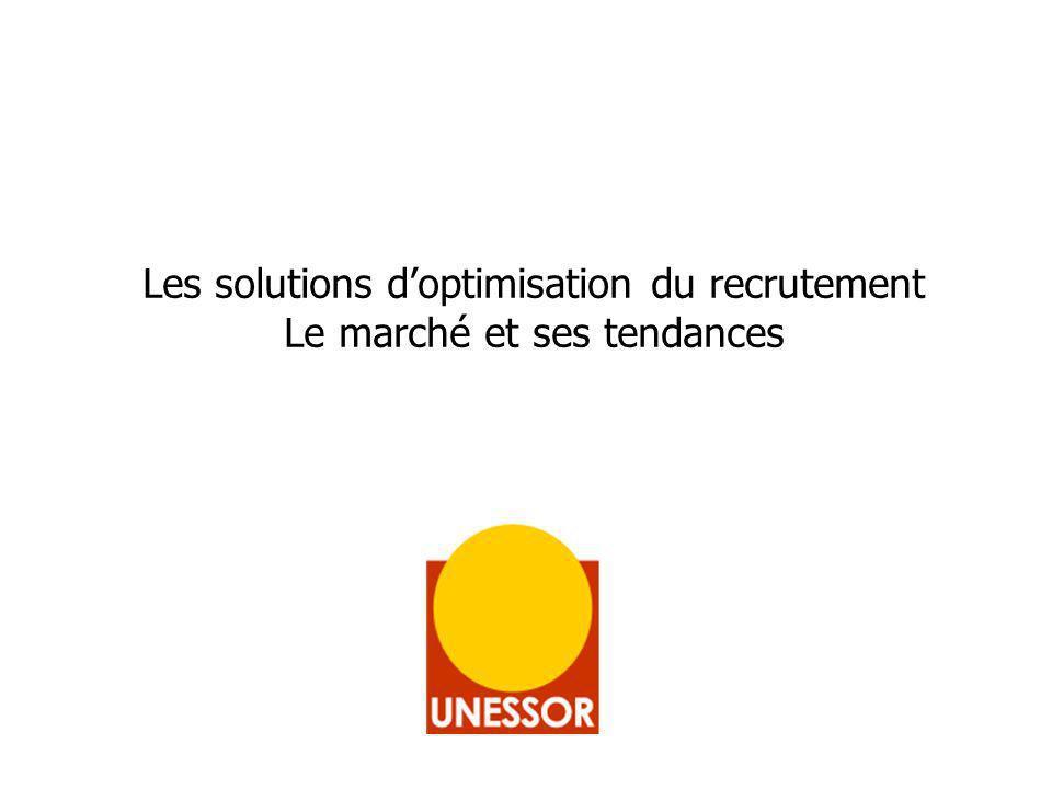 Les solutions doptimisation du recrutement Le marché et ses tendances