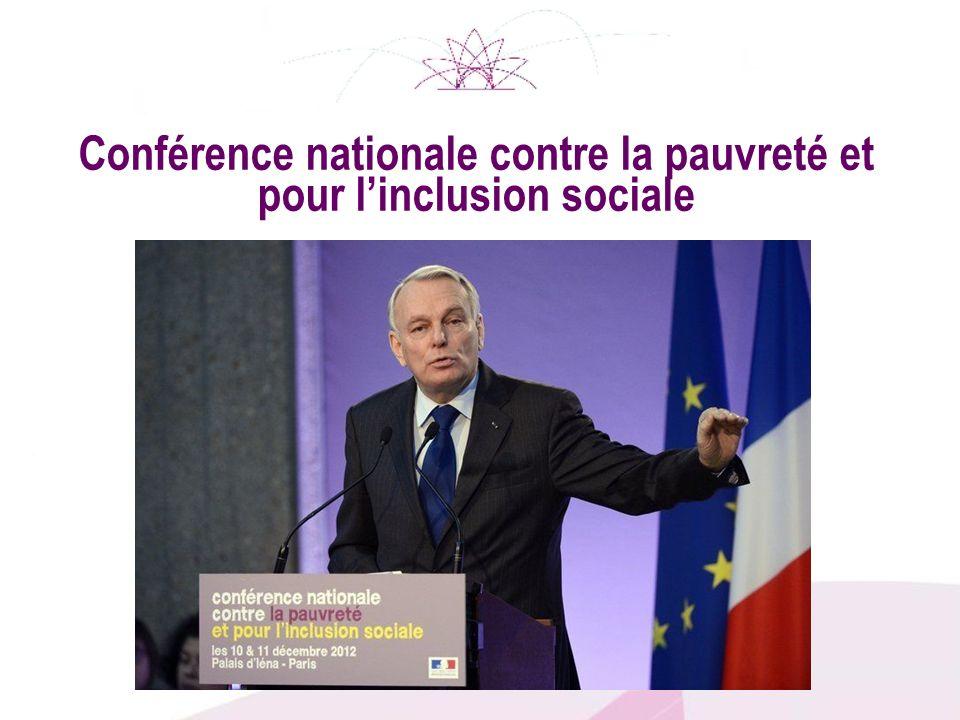 Conférence nationale contre la pauvreté et pour linclusion sociale