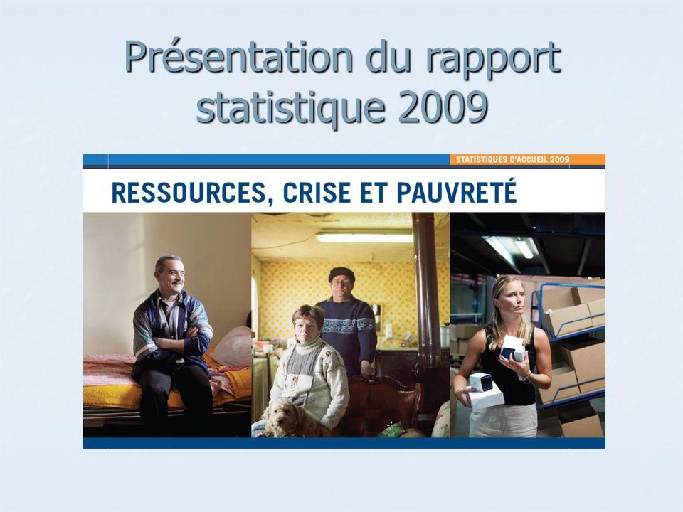 Présentation du rapport statistique 2009