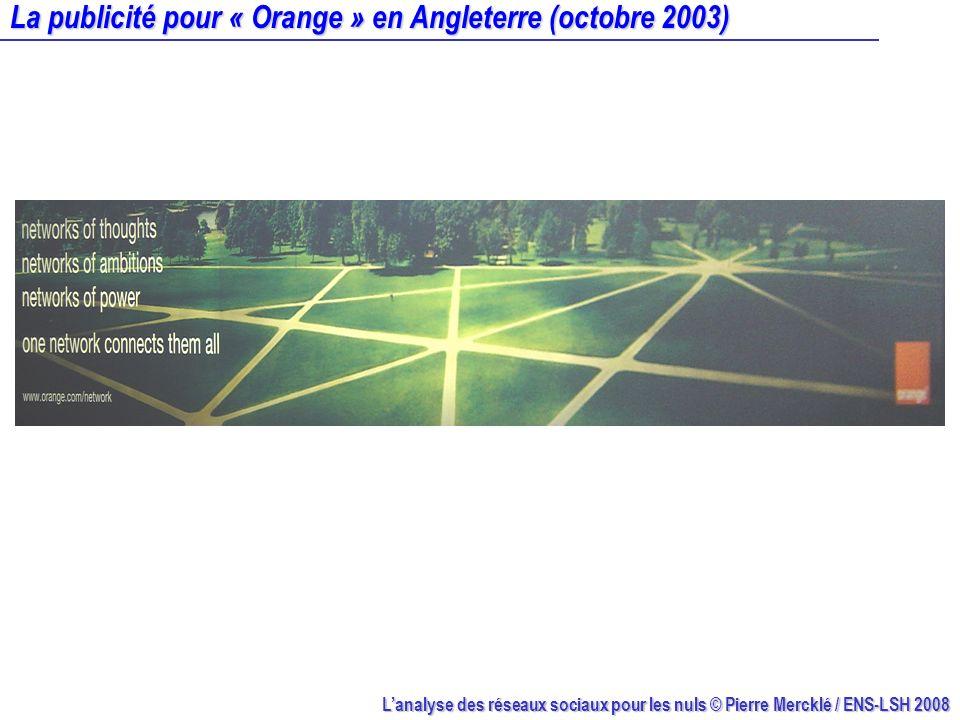 Lanalyse des réseaux sociaux pour les nuls © Pierre Mercklé / ENS-LSH 2008 Un monastère en crise : blockmodel Source : daprès White, Boorman et Breiger (1976)