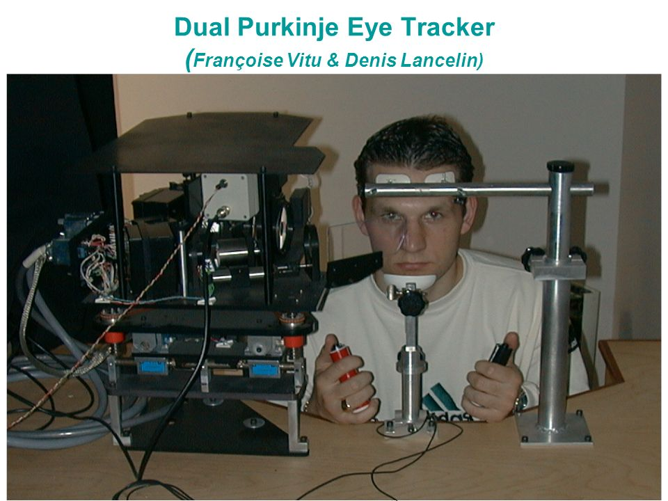 Master ENS 2004 - ORegan Dual Purkinje Eye Tracker ( Françoise Vitu & Denis Lancelin)