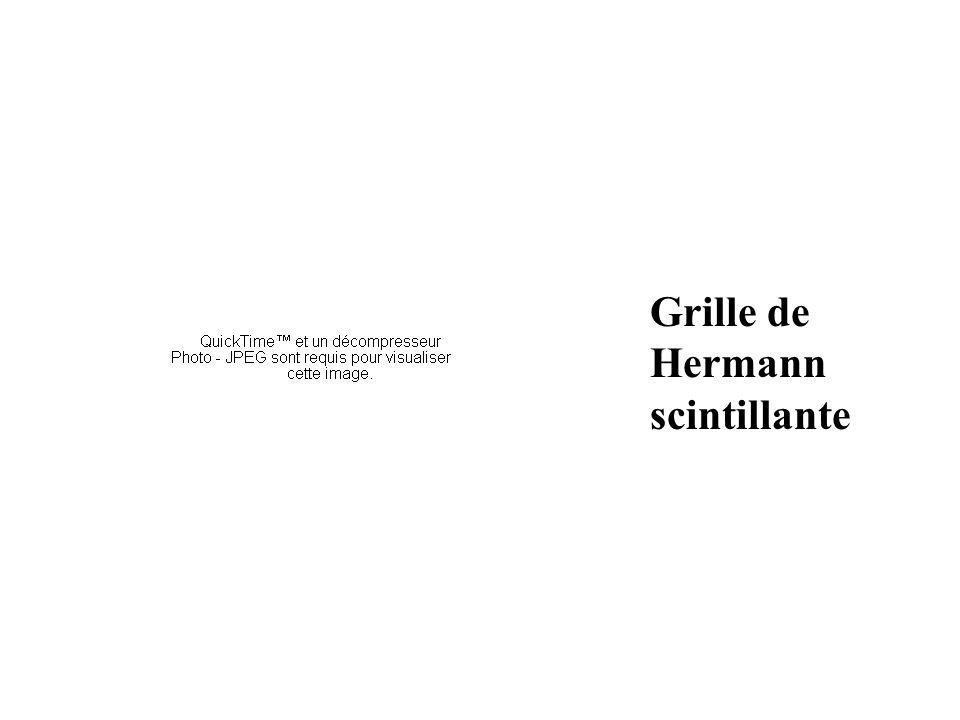 Grille de Hermann scintillante