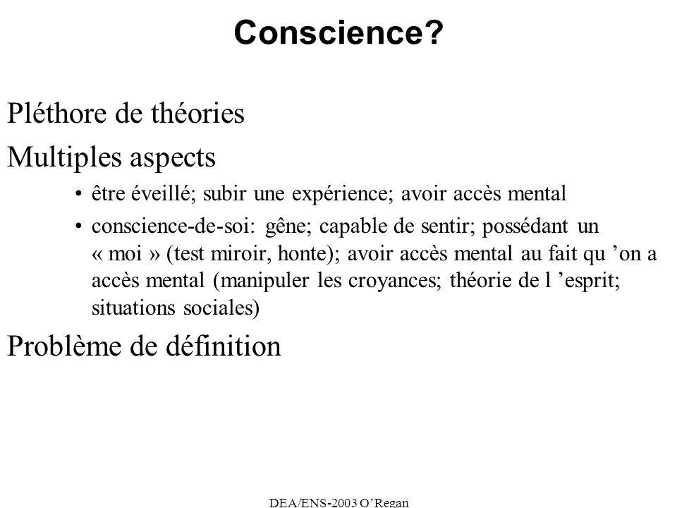 DEA/ENS-2003 ORegan Conscience.