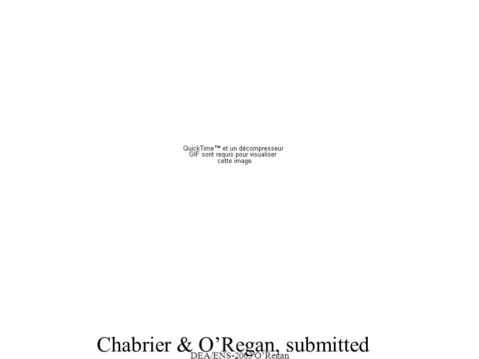 DEA/ENS-2003 ORegan Chabrier & ORegan, submitted