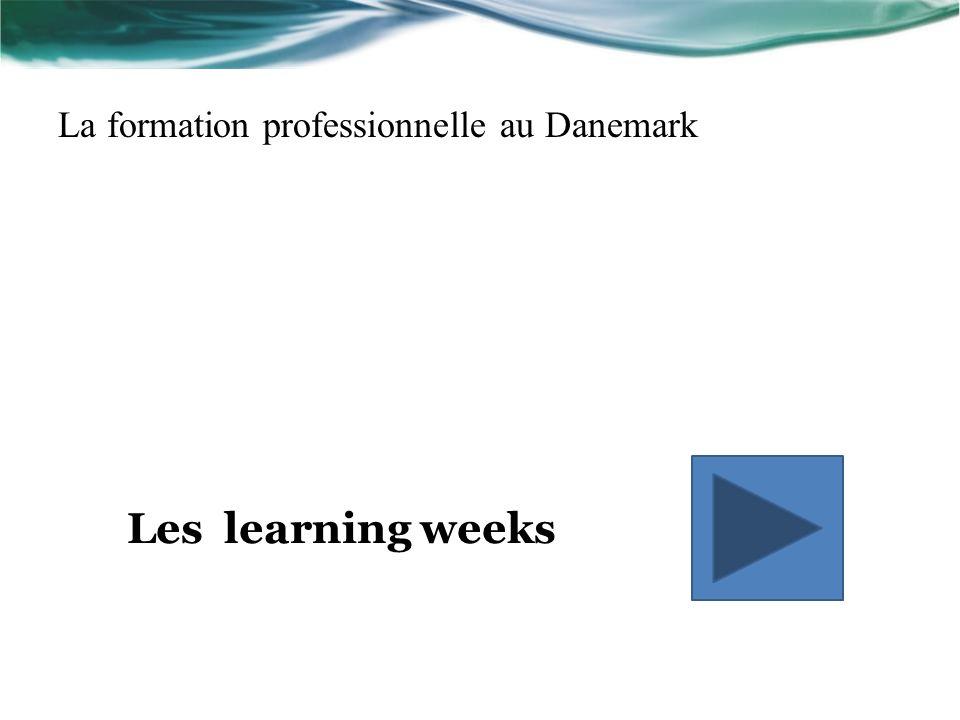 La formation professionnelle au Danemark Les learning weeks