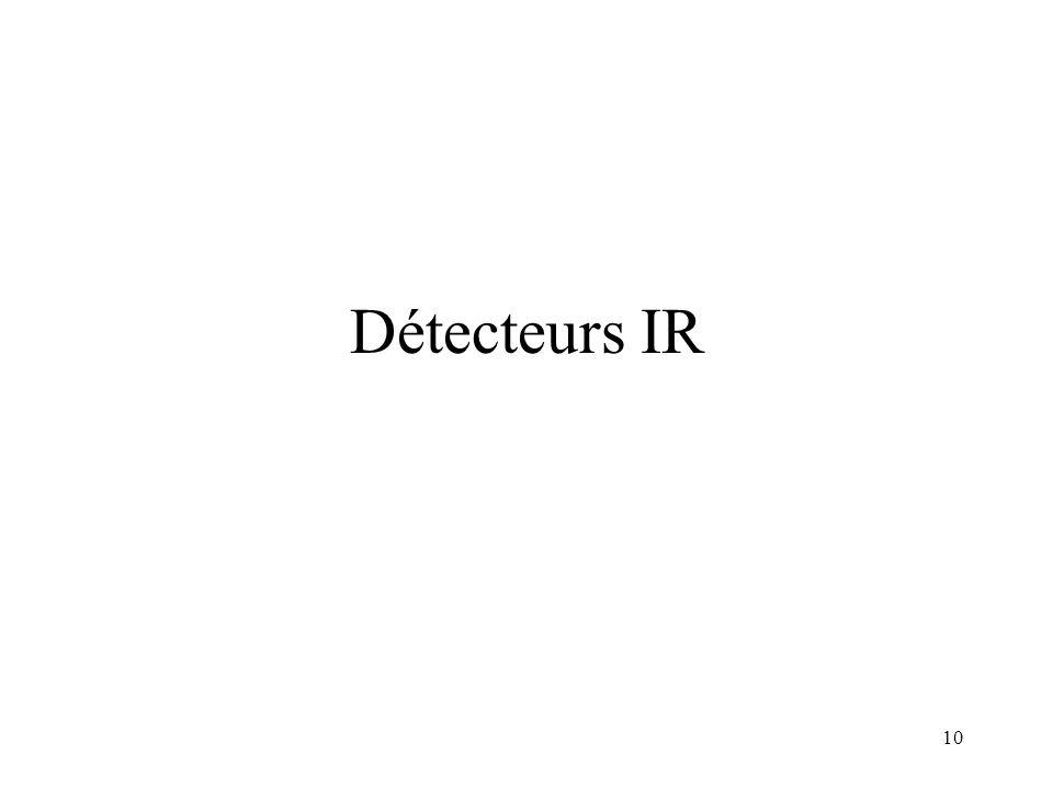 10 Détecteurs IR