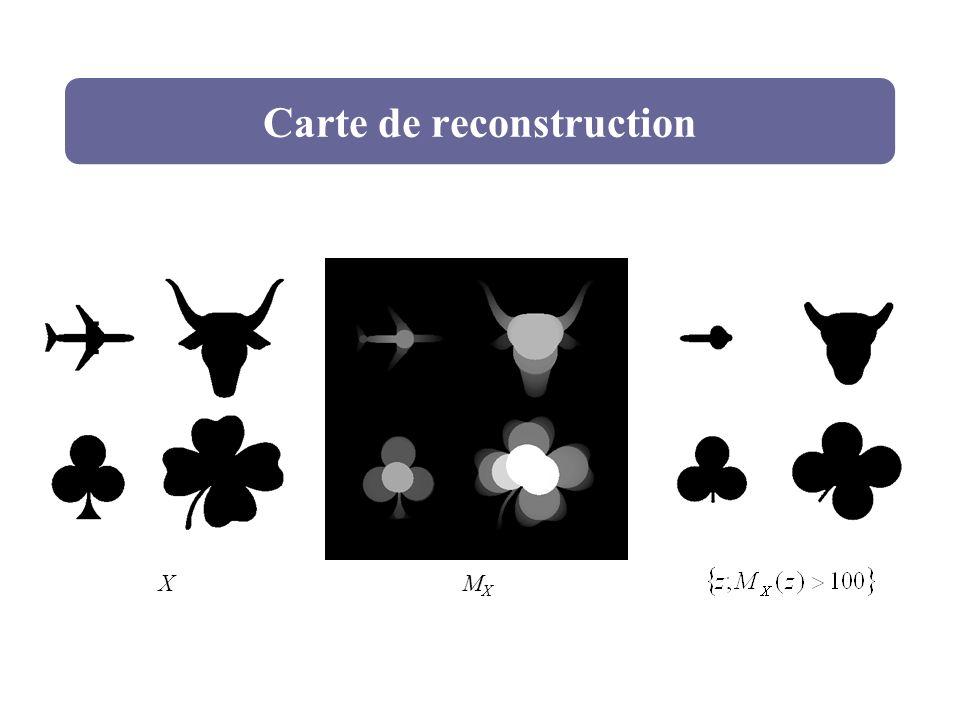 Carte de reconstruction XMXMX