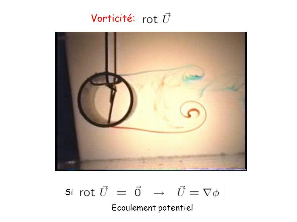 Exemples de structures tourbillonnaires Origine et transport de la vorticité ?