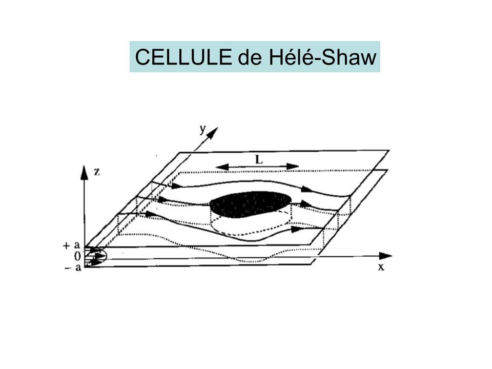 CELLULE de Hélé-Shaw