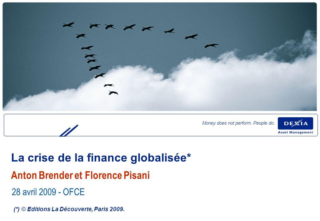 22 Les déséquilibres financiers internationaux, des conclusions trop optimistes.