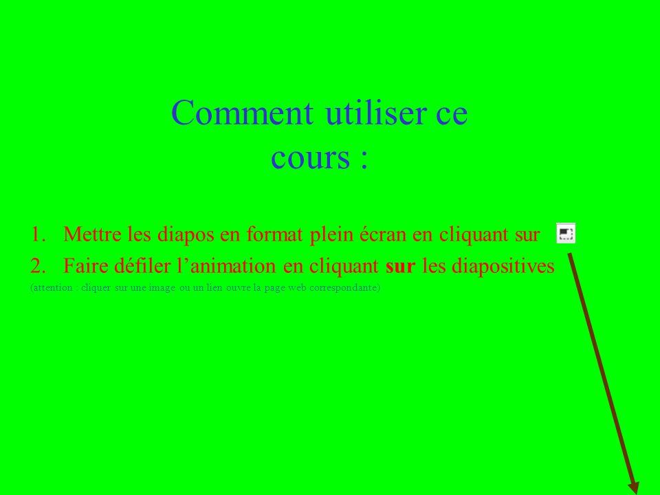 Utilisation ou copie interdites sans citation janvier 14 2 Valérie Capron et Rémi Bachelet Comment utiliser ce cours : 1.Mettre les diapos en format p