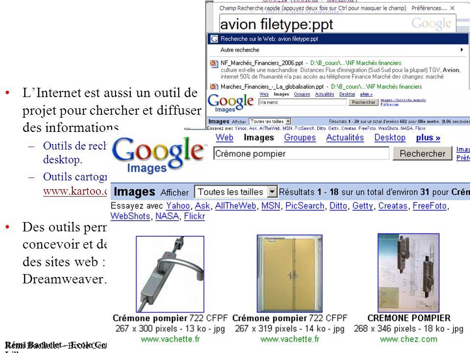 Utilisation ou copie interdites sans citation Rémi Bachelet – Ecole Centrale de Lille 26 13 janvier 2014 Rémi Bachelet – Ecole Centrale de Lille Utili