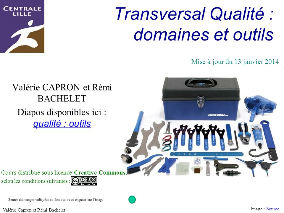 32 Utilisation ou copie interdites sans citation Valérie Capron et Rémi Bachelet Exemples de démarches SMED