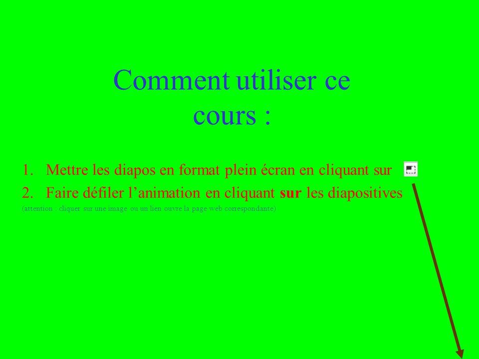 Utilisation ou copie interdites sans citation janvier 14 Rémi BACHELET – Ecole Centrale de Lille 2 Comment utiliser ce cours : 1.Mettre les diapos en