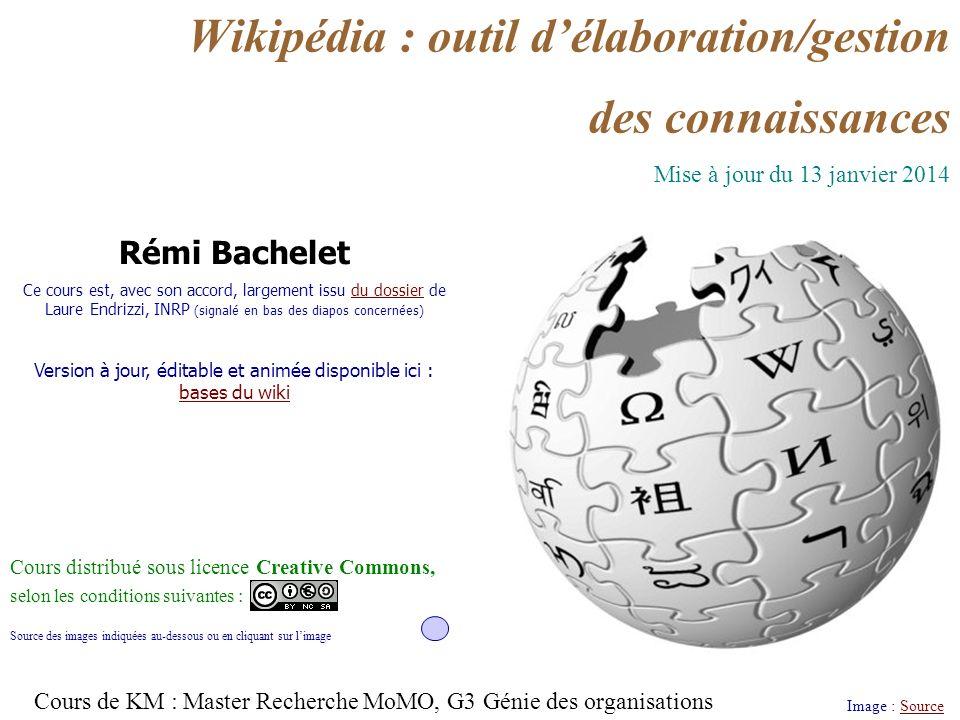 Rémi Bachelet 2 janvier 14 Licence cc-by 1/ Le wiki quest-ce que cest au juste .