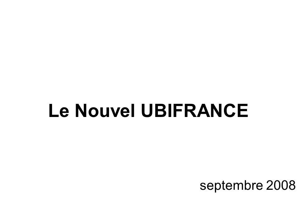 Le Nouvel UBIFRANCE septembre 2008