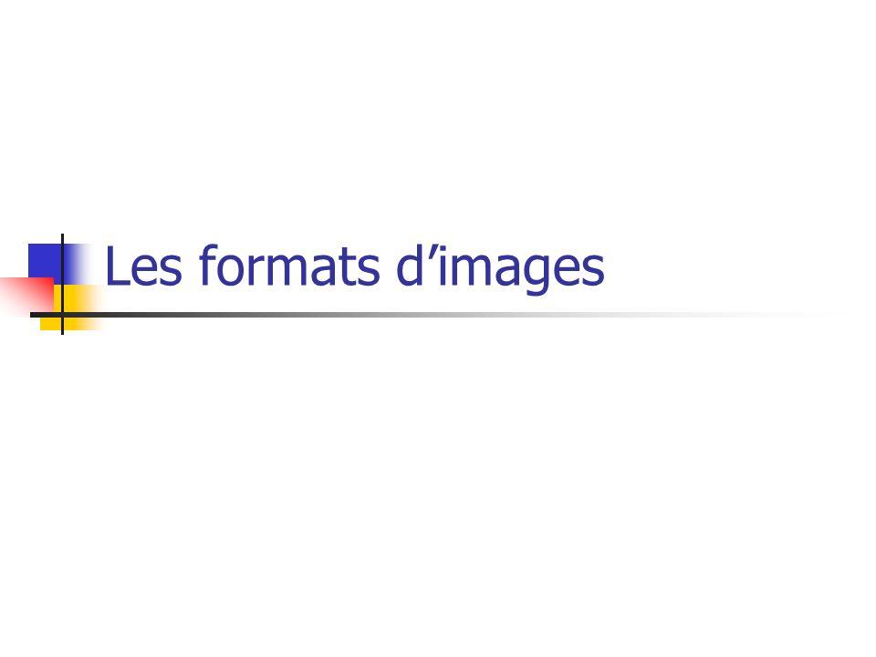 Les images pour Internet GIF : Graphics Interchange Format (soumis à des droits dutilisation).