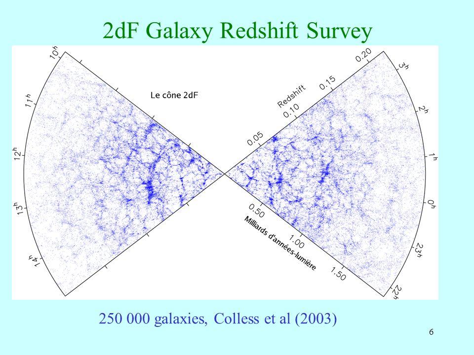 57 MOND et les amas Selon la physique des baryons, du gaz froid pourrait se trouver au centre des amas (flots de refroidissement) Dautre part, les neutrinos pourrait représenter 2x plus de masse que les baryons