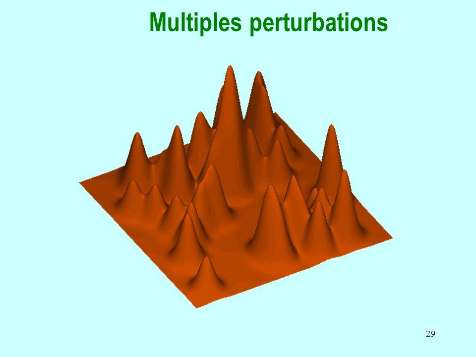 29 Multiples perturbations